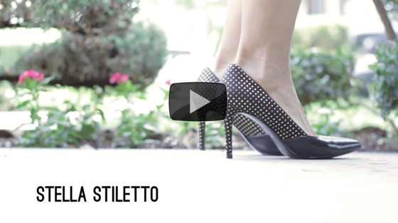 GoGo Heel - Meet Stella Stiletto
