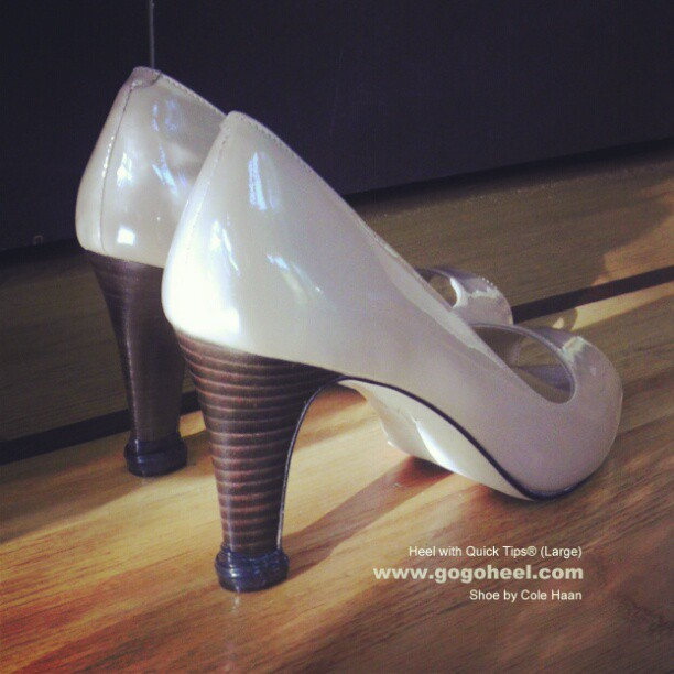 GoGo-Heel-Cap-on-Nude-High-Heel-Shoes