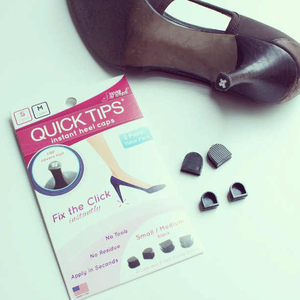 GoGo Heel Cap is instant shoe repair kit for high heels