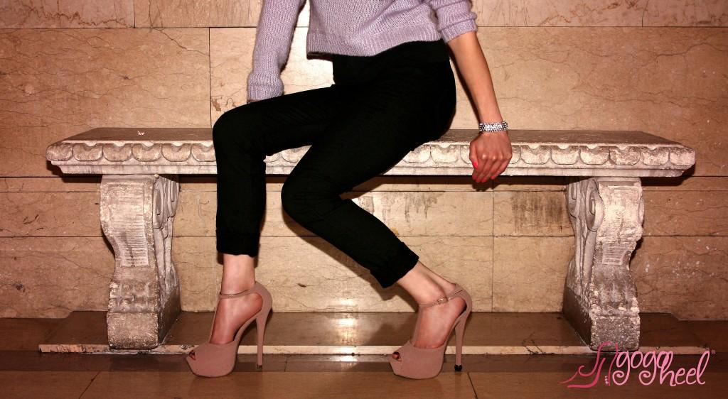 Quick Tips Heel Cap on high heel shoe