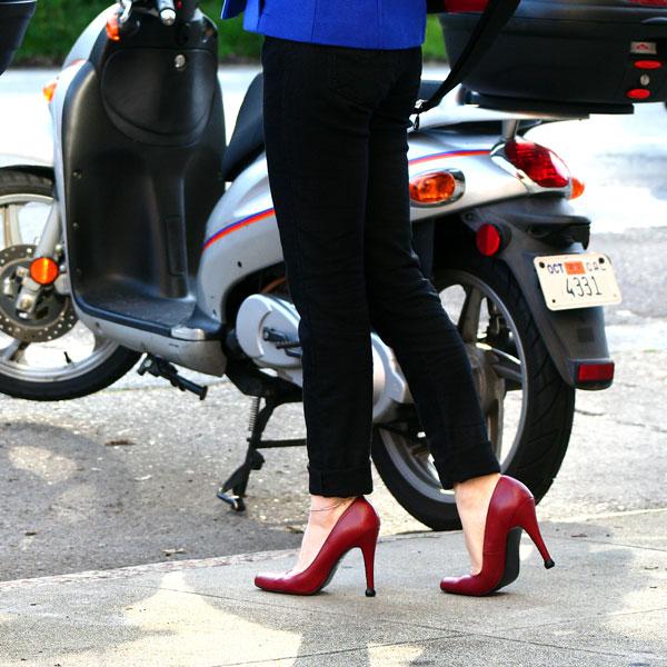 how to fix worn down heels