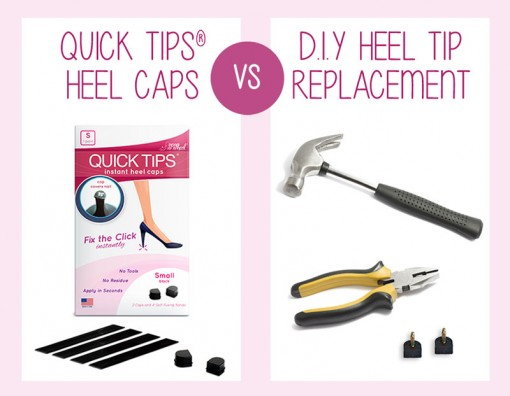 QUICK TIPS Heel Caps vs Heel Tip Replacement