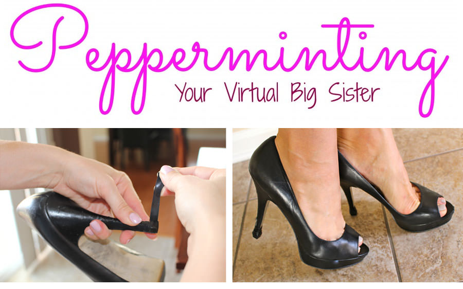 Pepperminting's QUICK TIPS Heel Cap Product Review