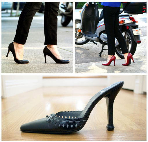QUICK TIPS on various high heels