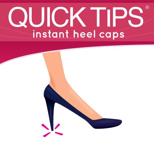 Quick Tips 174 Slip On Caps Instant Heel Tip Repair