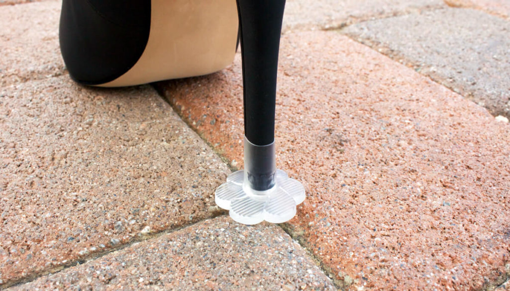 New Product: STOPPERS Prevents Heel from Sinking in Grass