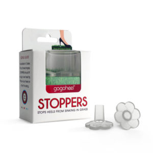 STOPPERS heel protectors for grass, XS Size