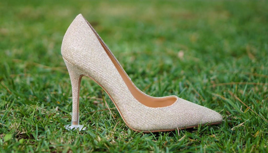 New Product Stoppers Prevents Heel From Sinking In Grass