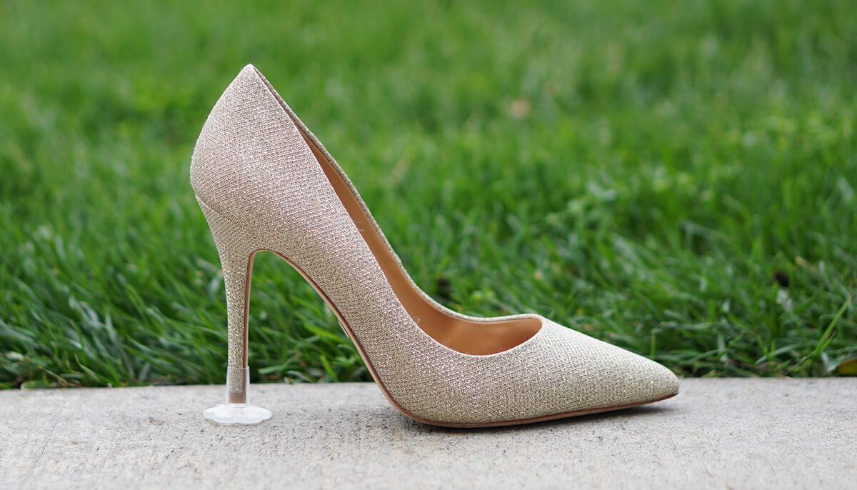 High Heel Shoe Protectors Walking Grass