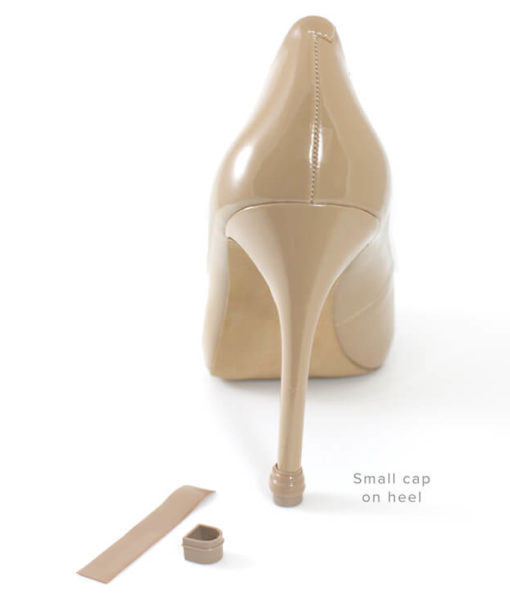 QUICK TIPS Heel Cap & Wrap on nude shoes