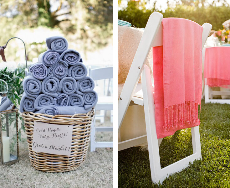 How To Keep Your Guests Comfy At Your Outdoor Wedding: 10 Essential Tips For An Outdoor Wedding