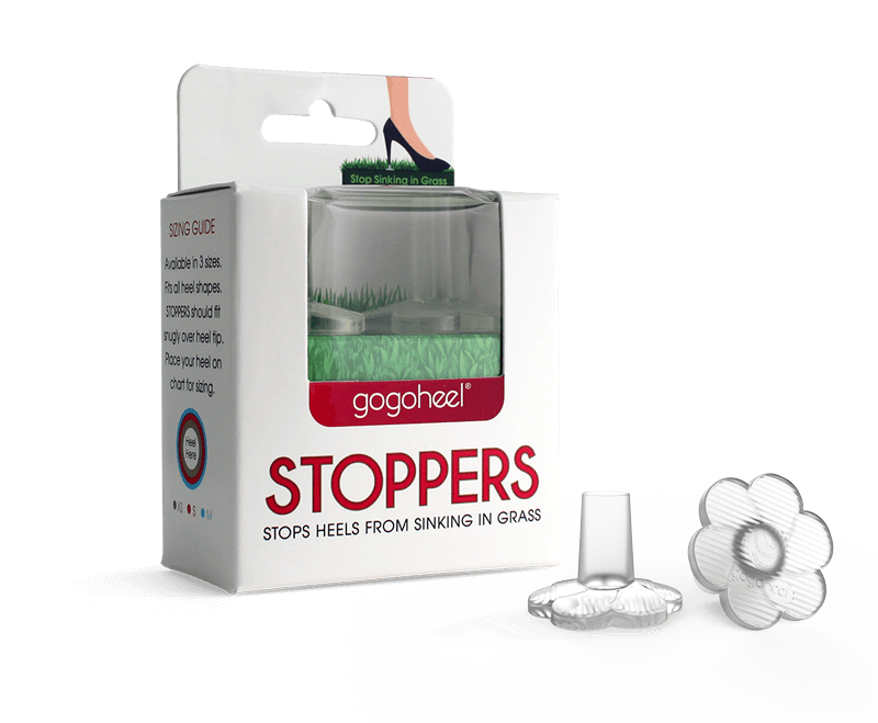 GoGo Heel Stoppers packaging