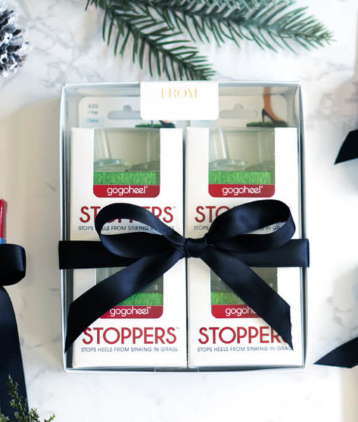 STOPPERS Heel Protector, 4-Pair Holiday Gift Set